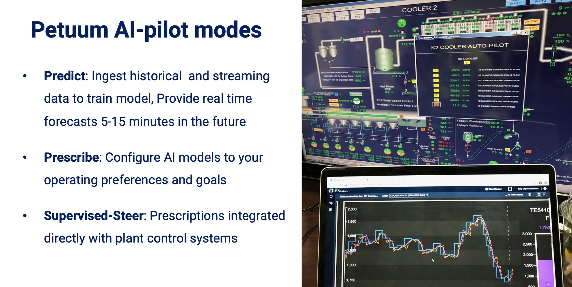 Petuum AI-pilot modes of operation