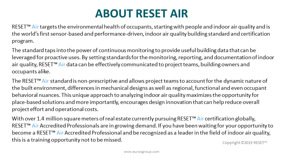 About RESET Air